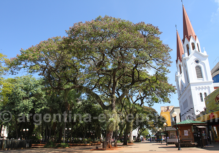 Posadas, capitale de la province de Misiones
