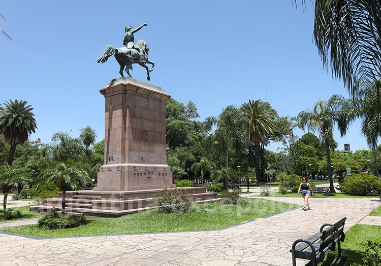 Ville de resistencia, Chaco, Argentine