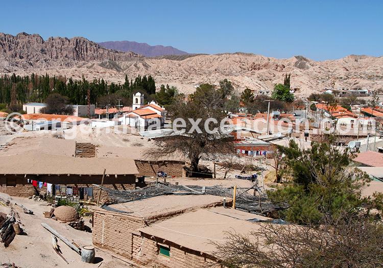 Village d'Angastaco, vallées Calchaquíes