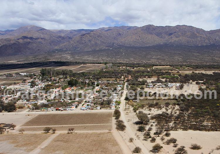 Village de San Carlos, vallées Calchaquíes